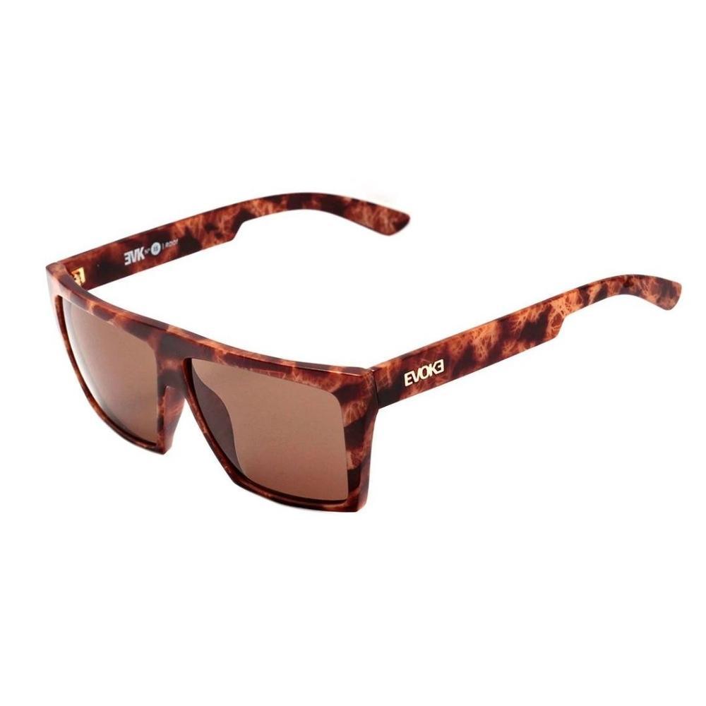 Óculos Evoke EVK 15 RD01 Radical Shine Gold Brown