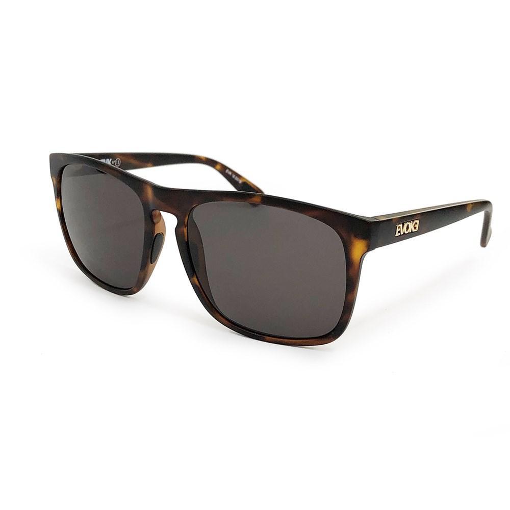 Óculos Evoke EVK 18 D01 Turtle Matte Gold Gray