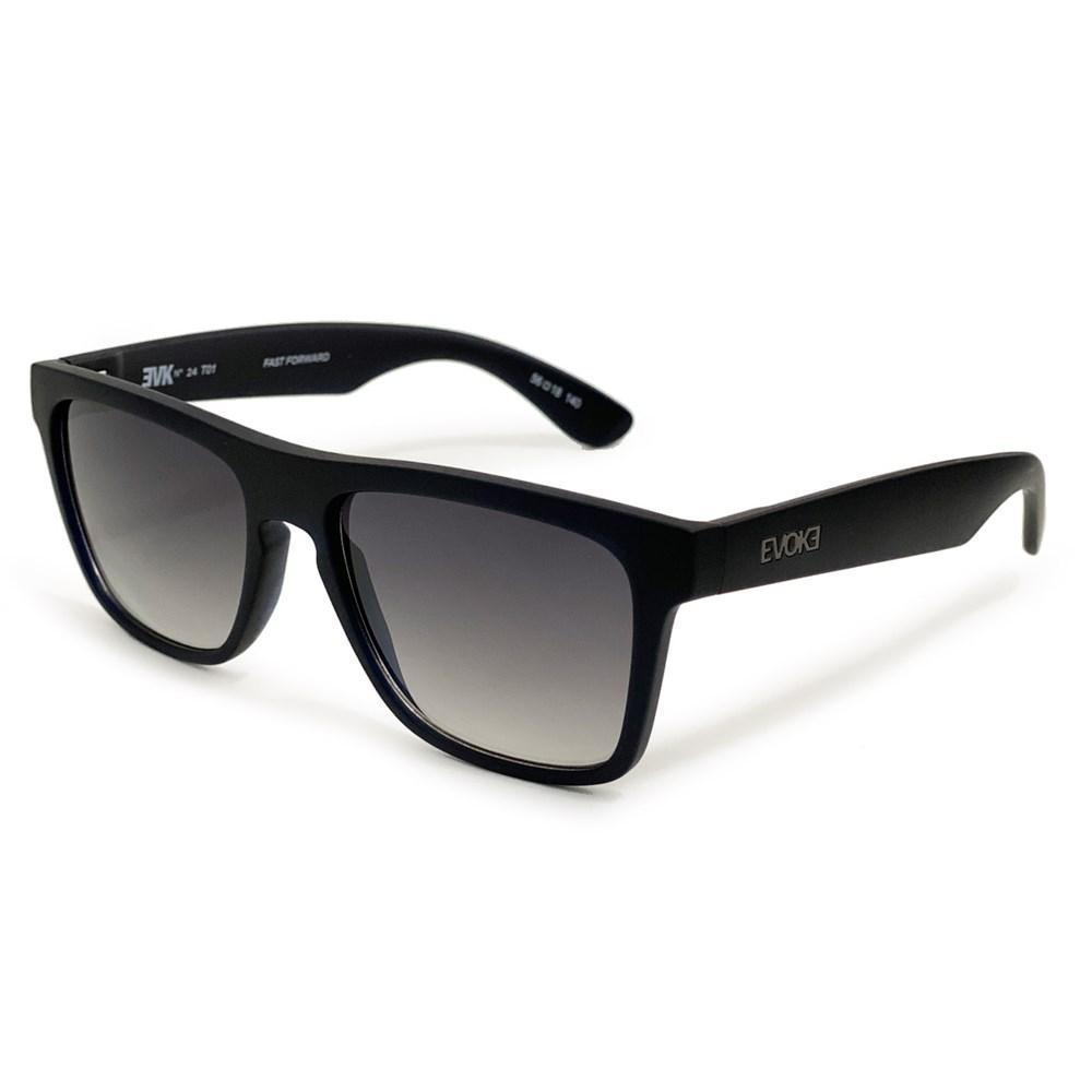 Óculos Evoke EVK 24 T01 Dark Brown Matte Gun