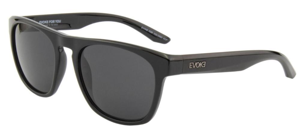 Óculos Evoke For You DS62 A01P Black Shine Polarized