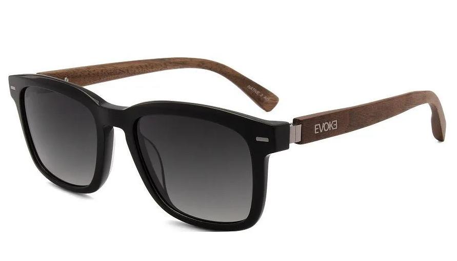 Óculos Evoke Native 3 A01 Black Brown Grey