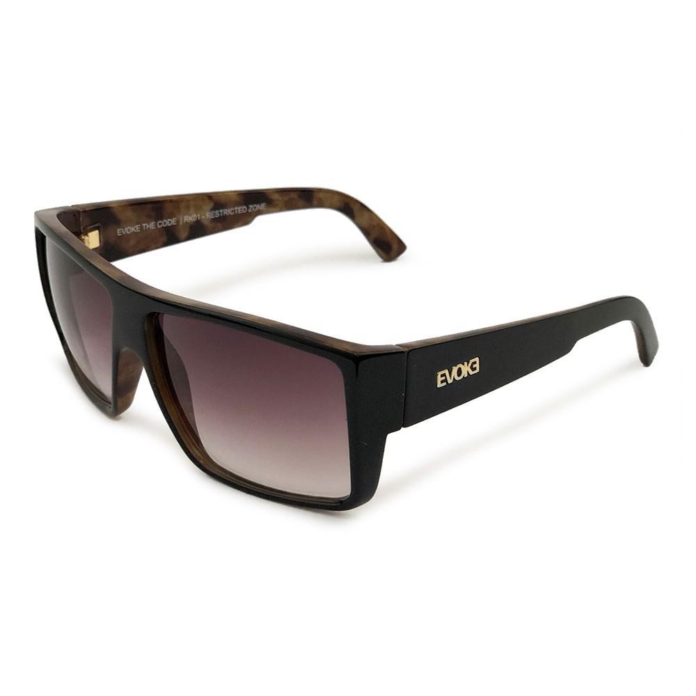Óculos Evoke The Code RK01 Black Radica Gold Grown