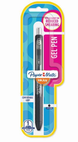 BLISTER C/1 CANETA PAPERMATE INKJOY GEL RT 0.7 PT