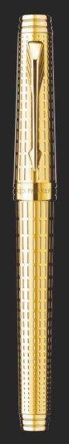 CANETA ROLLER BALL PARKER PREMIER DELUXE GT S0887950