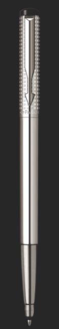 CANETA ROLLER BALL PARKER VECTOR PREMIUM CROMADA S0908750