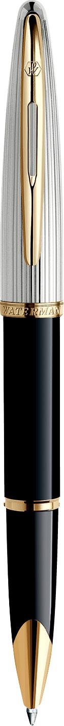 CANETA ROLLER BALL WATERMAN CARENE LUXO NEGRA GT S0699980