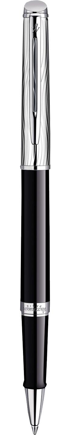 CANETA ROLLER BALL WATERMAN HEMISPHERE LUXO NEGRA CT S0921130