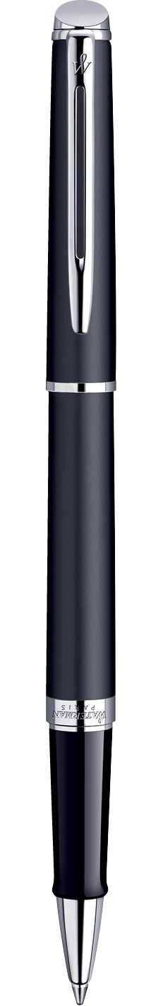 CANETA ROLLER BALL WATERMAN HEMISPHERE NEGRO FOSCO CT S0920850