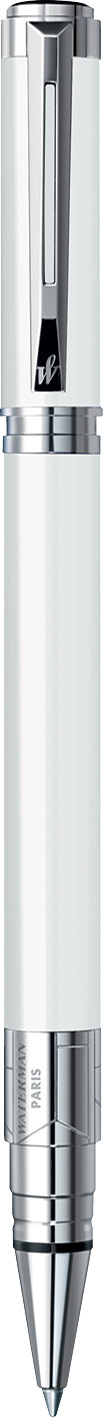 CANETA ROLLER BALL WATERMAN PERSPECTIVE BRANCO CT S0944620