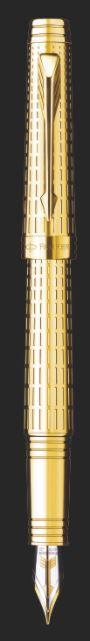 CANETA TINTEIRO PARKER PREMIER DELUXE GT S0887940