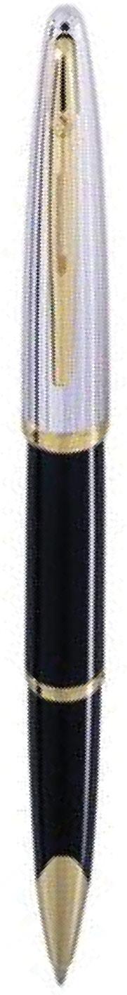 CANETA TINTEIRO WATERMAN CARENE DELUXE NEGRA GT S0699940