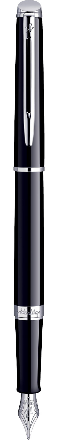 CANETA TINTEIRO WATERMAN HEMISPHERE NEGRA CT S0920530
