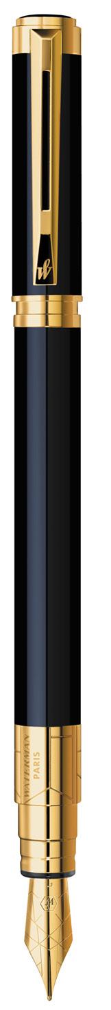 CANETA TINTEIRO WATERMAN PERSPECTIVE NEGRO GT S0830820