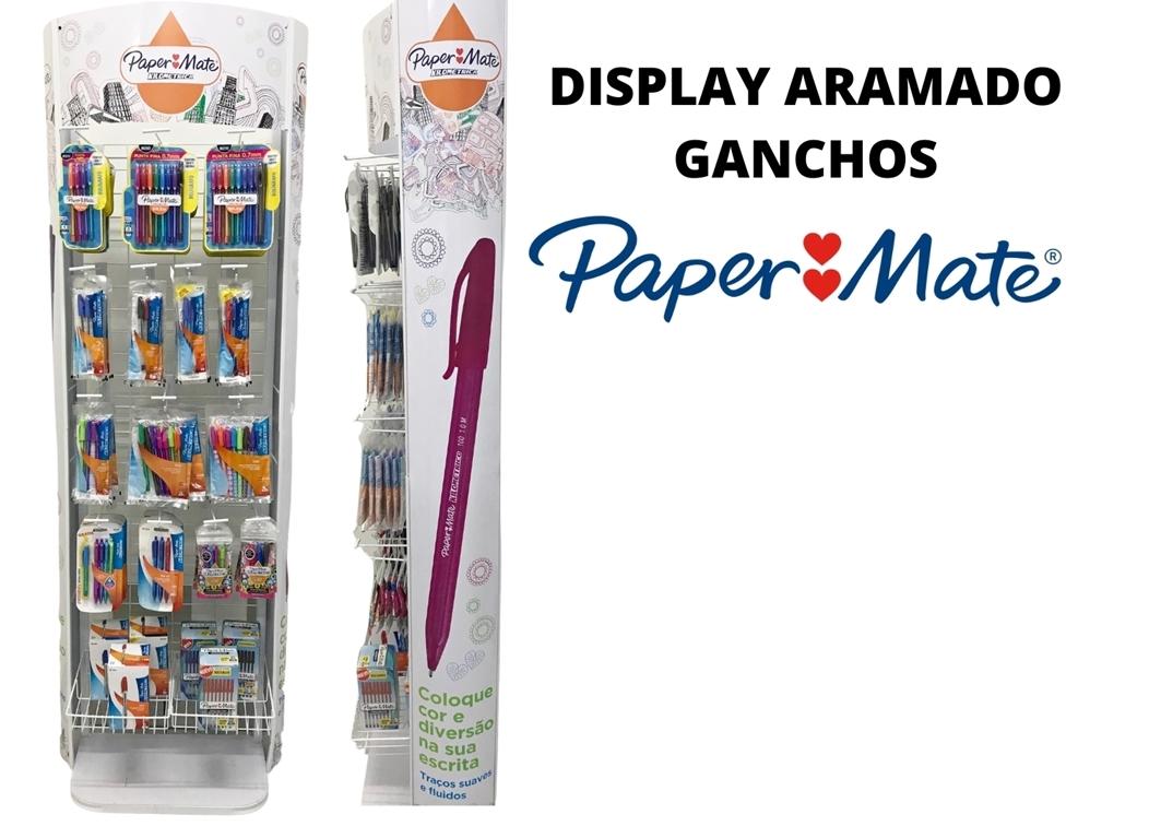 DISPLAY PAPER MATE GANCHOS ARAMADO