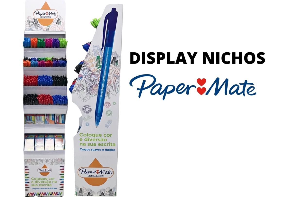 DISPLAY PAPER MATE NICHOS