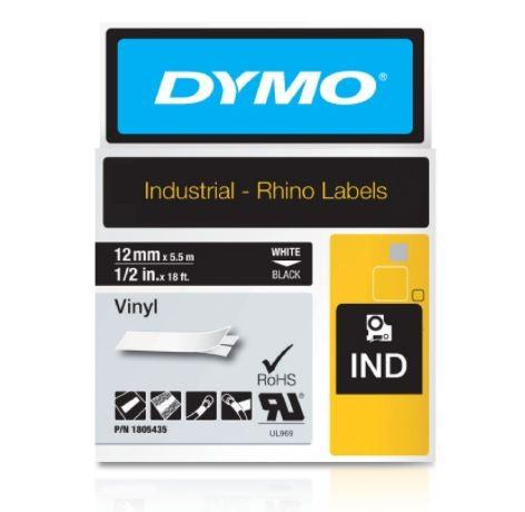 FITA VINILICA/PVC DYMO P/ROT RHINOPRO 12MM X 5,5M BRPT