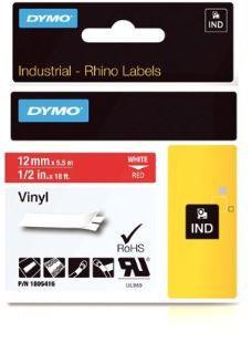 FITA VINILICA/PVC DYMO P/ROT RHINOPRO 12MM X 5,5M BRVM