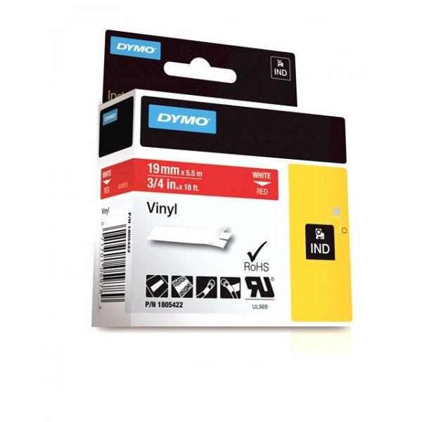 FITA VINILICA/PVC DYMO P/ROT RHINOPRO 19MM X 5,5M BRVM