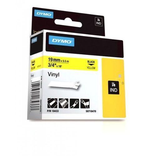 FITA VINILICA/PVC DYMO P/ROT RHINOPRO 19MM X 5,5M PTAM