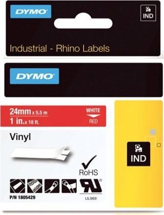 FITA VINILICA/PVC DYMO P/ROT RHINOPRO 24MM X 5,5M BRVM