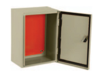 Caixa Hermética em METAL 50x50x20+ Cooler