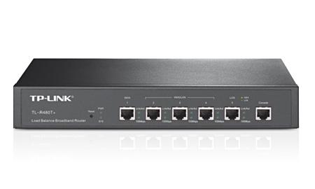 W. TP-LINK TL-R480T+2 PORTAS WAN+3 LAN 266MHZ INTEL  - infoarte2005