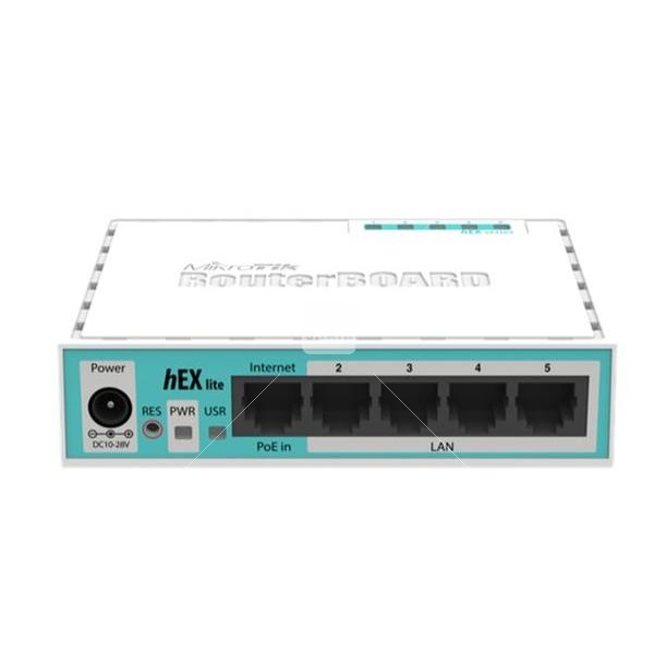 MIKROTIK- ROUTERBOARD RB 750GR3 HEX 880MHZ 256MB L4  - infoarte2005
