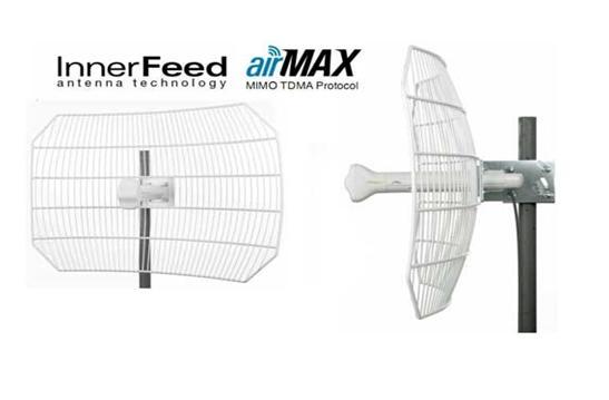 UBIQUITI ANTENA AIRGRID M5 AGM5-1724 27 DBI 17X24´ FONTE  - infoarte2005