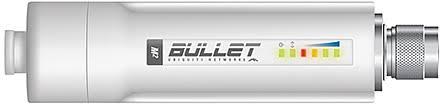 UBIQUITI BULLET-M2  OUTDOOR 2.4GHZ 600MW Não incluso fonte  - infoarte2005