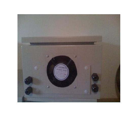 Caixa Hermetica metal 60X50X20  COM  COOLER  - infoarte2005