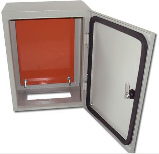 Caixa Hermética METAL 30x30x20 + Cooler  - infoarte2005