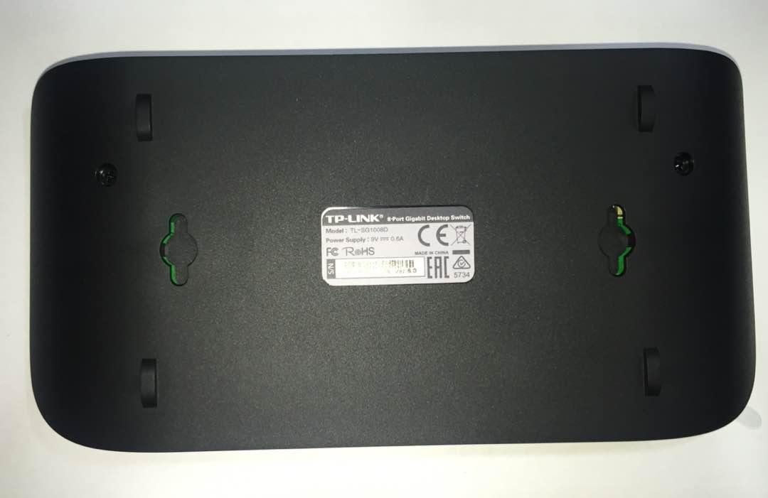 TP-LINK HUB-SWITCH 08P TL-SG1008D 10/100/1000  - infoarte2005