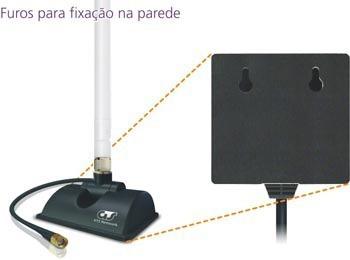 Antena Omni 10dbi Highbooster Gts 360º indoor  - infoarte2005