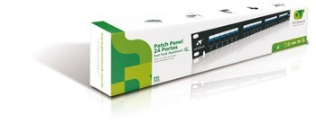 Patch Panel Gts Network 24 Portas Cat6 Regua Vazia