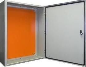 Caixa Hermética em METAL 50x40x20 sem cooler  IP 65  - infoarte2005