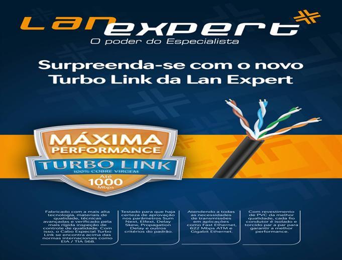 cabo de rede Lan Expert  Cat5e STP Preto, 4 pares Bobina c/ 1000m C5ETB-1000-  - infoarte2005