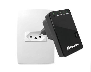 Mini Roteador Wireless Greatek Wr3300n 300 Mbps Frete Grátis