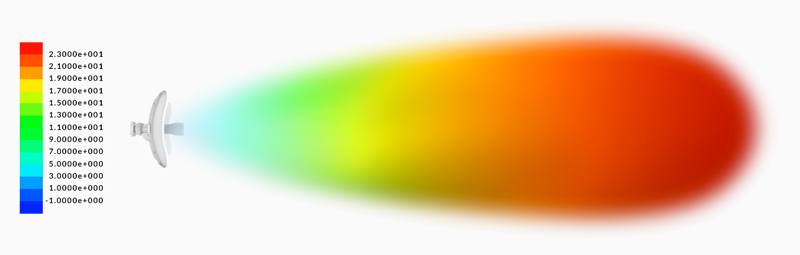 UBIQUITI LITEBEAM LBE-5AC-23-BR 23DBI 5GHZ 100MBPS+AC  - infoarte2005