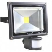 Refletores Led 20w Com Sensor Fotocelula Maxtel Ip66