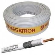 Fio De Antena Cabo Coaxial 67% Rg6 Megatrom Rolo 100m 75 Ohm