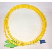 F. PATCH CORD LC-UPC SC-APC SINGLE MODE DUPLEX 3.0MM 2M