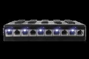 Patch Panel Poe Volt 5 Portas 12v 24v 48v Fast Ethernet