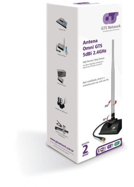 Antena Omni 5dBi HighBooster GTS 360º  - infoarte2005