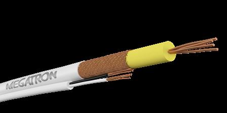 Coaxial Flexível RF 0,4/2,5 +Bipolar (2x26AWG)  CFTV ( Circuito fechado TV ), Vídeo Porteiro e Porteiro Eletrônico.  - infoarte2005