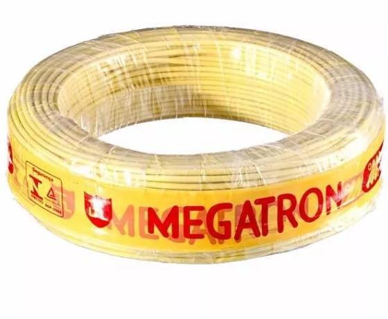 Cabo Flexível De Cobre 1,5mm Vd -antichamas 100METROS  Megatron  - infoarte2005