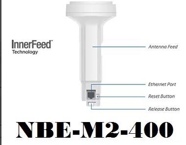 PONTERIA Ubiquiti NANOBEAM M2 Nbe-m2-400 2ghz P/ REPOSIÇÃO!  - infoarte2005