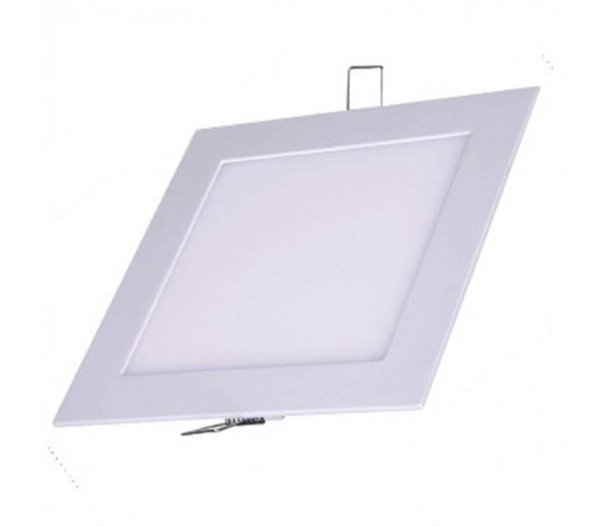 Luminarias Paflon Led 12w Embutir Maxtel Quadrado  Cod: MT1412A  - infoarte2005
