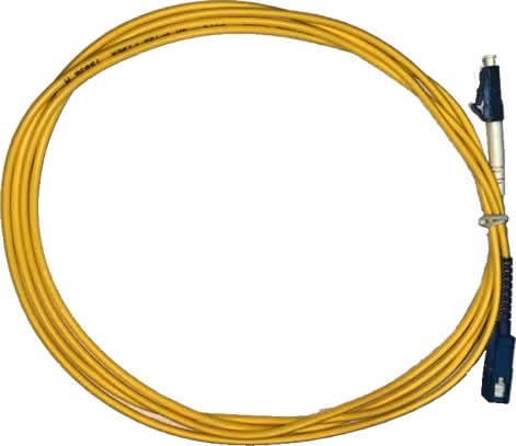10 uni F. PATCH CORD SC-UPC LC-UPC SINGLE MODE SIMPLEX 3.0MM 2M cod 4928  - infoarte2005