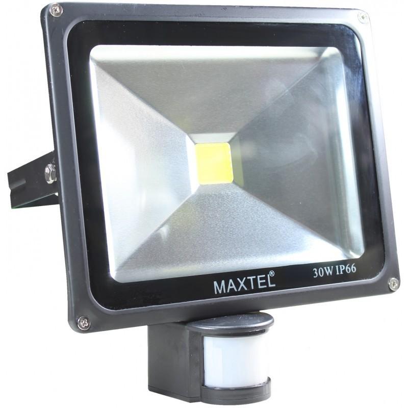 Refletor Led 30 w Com Sensor Presença Maxtel Ip66