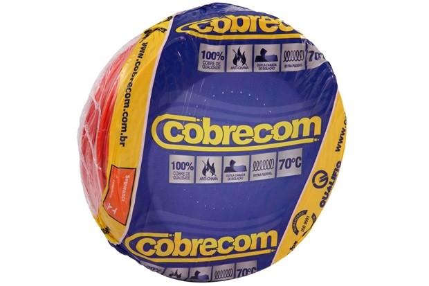 Fio Cabo Flexivel 6mm Rolo 100m - Cobrecom Varias Cores  - infoarte2005